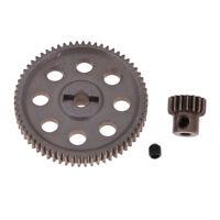 Car Truck Inoxy Pignone differenziale e kit motore DIY per HSP 94111 1/10 RC