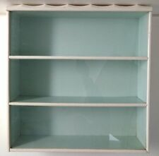Storybook Doll Cabinet For Nancy Ann Dressed Dolls Glass Front Vintage Rare 3