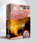 Stock Video Business Footage vol.2; 45 HD Royalty Free 1080p Video Clips