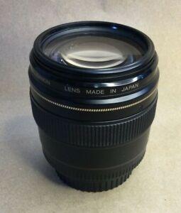 Canon Lens EF 100mm 1:2 japan mij  Clean Macro