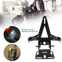 Einstellbar Motorrad Kennzeichenhalter Lizenz Seitlicher Motorrad Alu Bracket