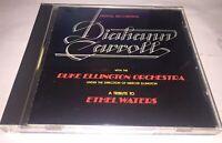 Diahann Carroll With Duke Ellington Ethel Waters Cd Made in Japan 1986 Import