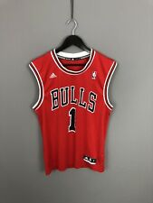 CHICAGO BULLS ADIDAS NBA Basketball Jersey - Small - #1 ROSE