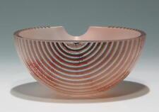 Glasschale Entwurf Bertil Vallien für Kosta Boda        #81587