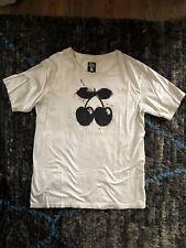Pacha Ibiza The Original Tee Shirt Mens Euro XXL Gray Bowtie Cherry Black Beaded