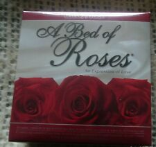 NEW LOVERS CHOICE 'A BED OF ROSES' RED SCENTED SILK ROSE PETALS & TEA LIGHTS