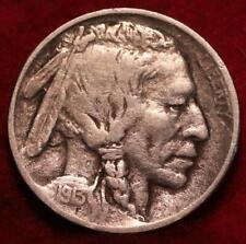 1913-D Type II Denver Mint  Buffalo Nickel