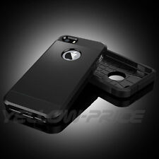 Apple iPhone 5S 5 Tough Case 2 Layers Armor Shell Guards Back Protection Cover