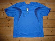 2000/07 XXL Italia Camiseta de Fútbol Camiseta Maillot Maglla Camiseta Italia
