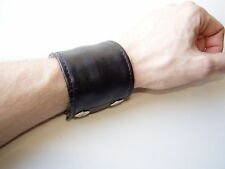 PARUS -MÜNCHEN- Geldbörse Lederarmband  wrist wallet [6 cm] gay leder lederhose