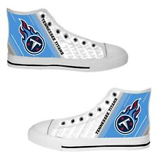 Tennessee Titans Custom Sneakers High Top Canvas Casual Mens Shoes