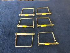 "6pc  PTO Square Handle Lock Pin 5/16"" Diameter 2-1/4"" Useable Length"