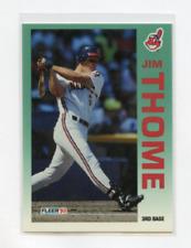 1992 FLEER  # 125  JIM THOME ROOKIE , INDIANS , PHILLIES