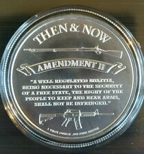 1 oz .999 Silver Punisher coin, second amendment musket New