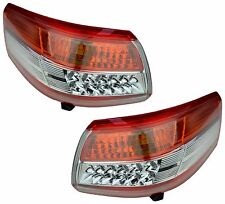 Pair of Tail Lights for Toyota Camry 07/09-09/11 New CV40 Rear Lamps LED 10 11