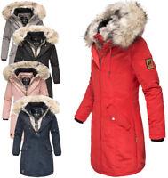 Navahoo Premium Damen Winter jacke FVS2  winter Parka Mantel sehr warm daylight