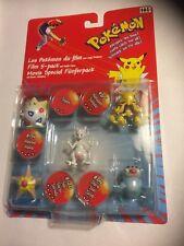 Pokémon Movie Special Fünferpack Film 5-Pack Tomy Figuren Neu Ovp Hasbro Mewtwo