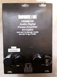Rowe AMI Extremely  Cool Audio Digital Power Amplifier  61132003 Jukebox