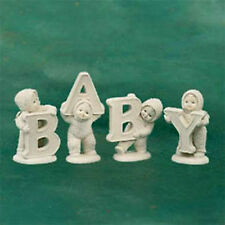 """DEPARTMENT 56 Snowbabies """"AND THAT SPELLS BABY"""" MIB 1998 FIGURINE COLLECTIBLE"""