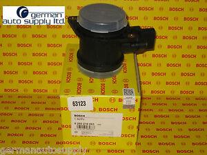 Audi, Volkswagen Air Mass Sensor, MAF - BOSCH - 0280218063, 63123 - NEW OEM VW