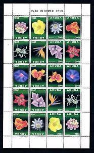 [ARV700] Aruba 2013 Flowers Blümen Fleurs Miniature Sheet MNH