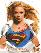 Laura Vandervoort 8x10 reprint Signed Photo #1 RP Smallville V & Bitten TV Shows