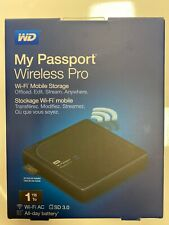 HDD 1To 1Tb disque dur USB externe pc portable WD My Passport Wifi PRO 1 To Tb