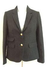 J CREW Schoolboy Blazer in Chalk Stripe 00 Navy Pinstripe $228 #03703