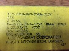 RARE NOS CURTISS WRIGHT R3350-26 AIRCRAFT RADIAL ENGINE ROCKER ARM P/N 426883
