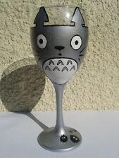 Totoro and Soot Sprites from Studio Ghibli's film My Neighbour Totoro Wine Glass