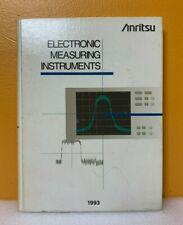 Anritsu 1993 Electronic Measuring Instruments Catalog