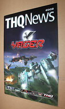 THQ NEWS 2002 Yager Red Faction II Summoner 2 WWE Xbox Gamecube PLAYSTATION 2
