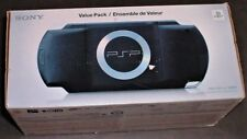 NEW Sony PlayStation Portable Console PSP-1001K Value Pack Handheld Games System