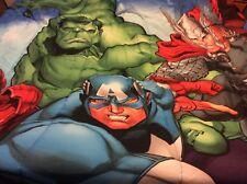 Marvel Avengers Assemble Twin Comforter/Blanket Reversible