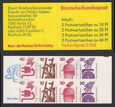 Bund Markenheftchen 20 ** Unfallverhütung 1974