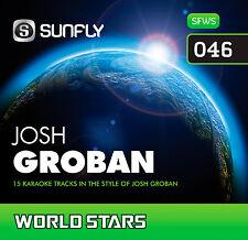 JOSH GROBAN SUNFLY KARAOKE CD+G