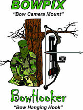 Compound Bow Camera Mount, bow camera holder, Bowpix