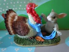 Charming Tails Turkey With Dressing 85/412 1999 New In Original Box Fitz & Floyd