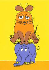 Postkarte  -  Die Sendung mit der Maus - Bockspringen