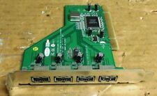 Carte PCI USB 2 - BEKLIN 4 PORTS