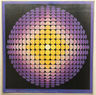 (PRL) DIFFRACTION CRISTALLINE YVARAL VINTAGE AFFICHE PRINT ART POSTER COLLECTION