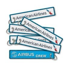 American Airlines-AIRBUS CREW KEYRING *2
