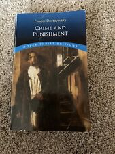 Dover Thrift Editions Ser.: Crime and Punishment by Fyodor Dostoevsky (2001,...