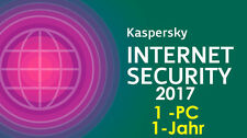 Kaspersky Internet Security 2017 Antivirus 1-Jahr 1-PC