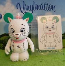 "Disney Vinylmation 3"" Park Set 1 Animation Marie Aristocats with Card"