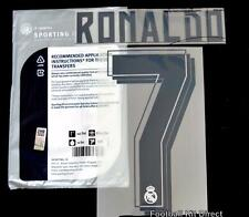 Real Madrid Ronaldo 7 2015/16 Football Shirt Name/Number Set Home Player Size