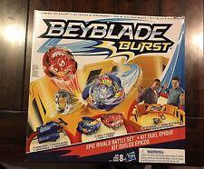 Beyblade Burst Epic Rivals Battle Set Beystadium With Tops & Launchers