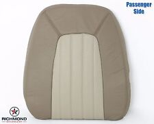 02-05 Mercury Mountaineer-PASSENGER Side Lean Back Leather Seat Cover 2-Tone Tan