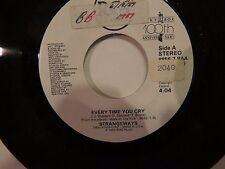 STRANGEWAYS EVERY TIME YOU CRY / SAME RCA 45 RPM PROMO # 8856-7  NEAR MINT