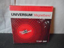 Vintage Bande Magnétique Magnetband Neuve New Universum DP 13 cm 360 m